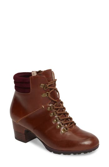 Jambu Burch Water Resistant Lace-Up Boot, Brown