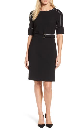 Women's Boss Duwimea Seamed Pencil Dress