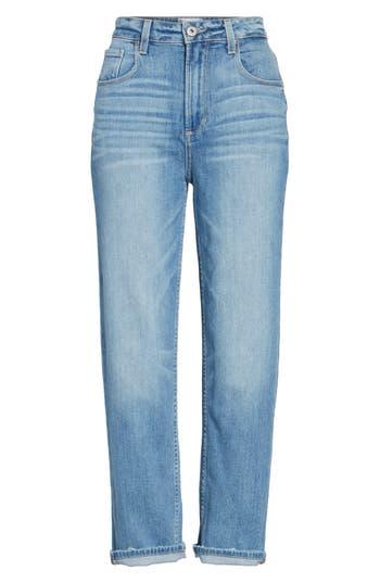 Women's Paige Sarah High Waist Crop Straight Leg Jeans