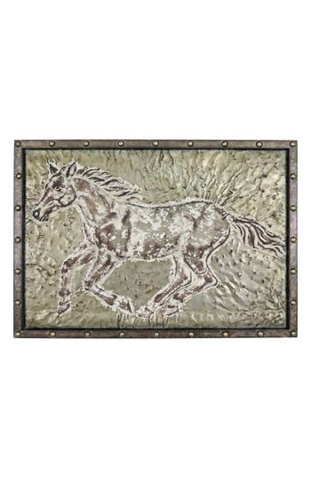 Foreside Running Horse Wall Art