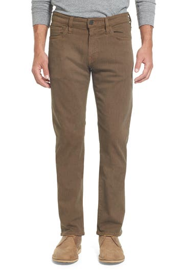 Big & Tall Heritage 34 Courage Straight Leg Jeans, Brown