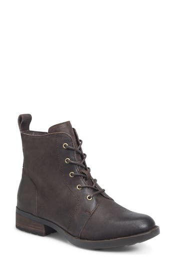 B?rn Troye Vintage Lace-Up Boot- Brown