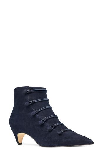Nine West Zadan Bootie- Blue