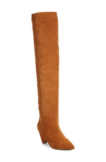 Jeffrey Campbell Senita Over The Knee Boot, Brown