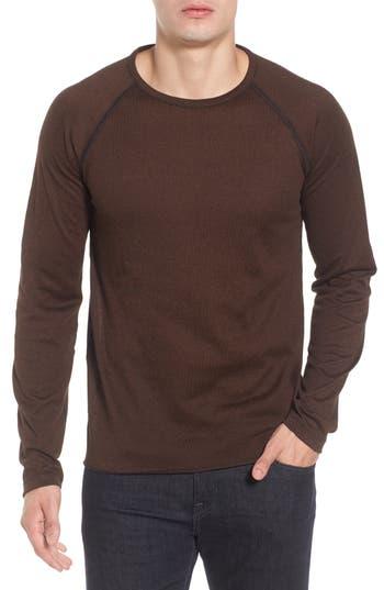 Men's Billy Reid Long Sleeve T-Shirt