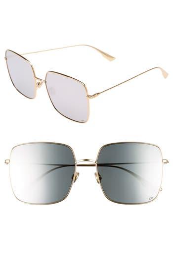 Dior Stellaire 1 5m Square Sunglasses - Gold/ Silver