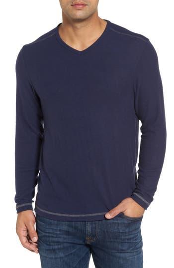 Men's Tommy Bahama 'Leeward' V-Neck Long Sleeve T-Shirt
