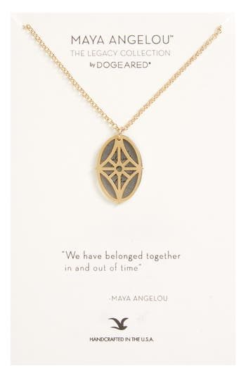 Women's Dogeared Legacy - We Have Belonged Together Tiered Pendant Necklace
