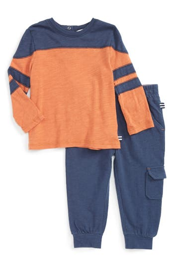 Infant Boy's Splendid Football T-Shirt & Jogger Pants