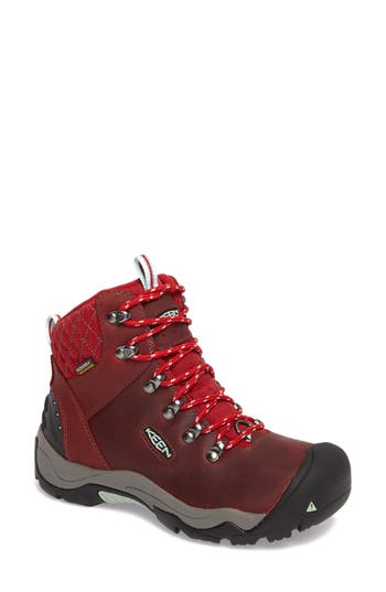 Keen Revel Iii Waterproof Hiking Boot, Red