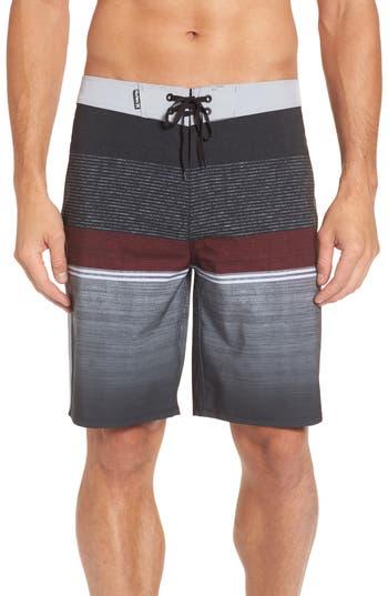 Hurley Phantom Cove Board Shorts, Black