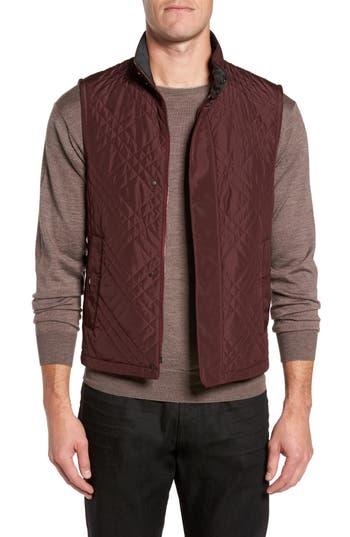 Men's Pal Zileri Quilted Field Vest