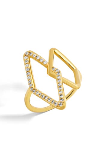 Women's Baublebar Triangulum Ring