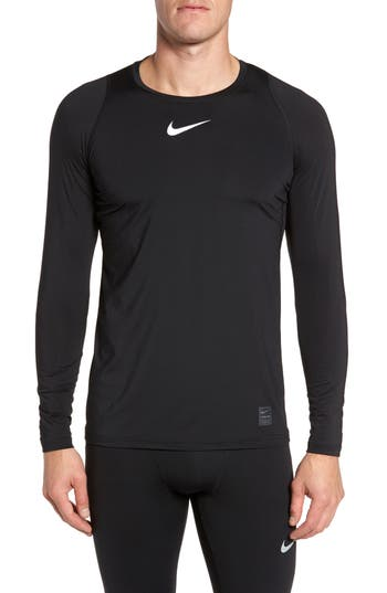 Nike Pro Fitted Performance T-Shirt, Black