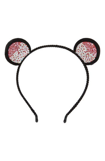 Cara Crystal Bear Ear Headband