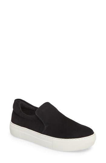 Jslides Acer Slip-On Sneaker- Black