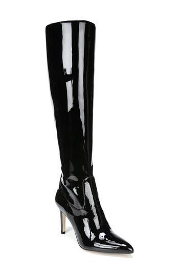 Sam Edelman Olencia Knee High Boot- Black