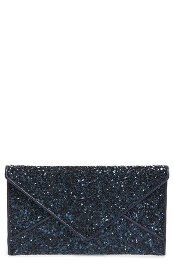Tory Burch Glitter Envelope Clutch -