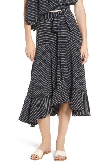 Women's Faithfull The Brand Kamares Ruffle Midi Skirt