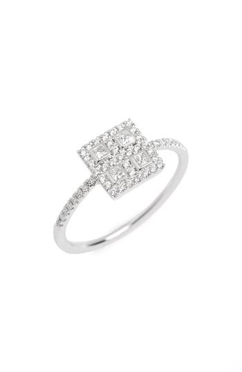 Women's Bony Levy Amara Diamond Square Ring (Nordstrom Exclusive)