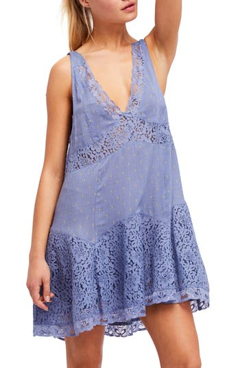 Free People Any Party Slipdress, Blue