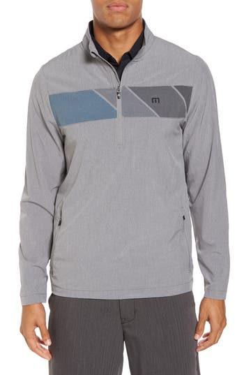 Men's Travis Mathew Manning Quarter Zip Jacket