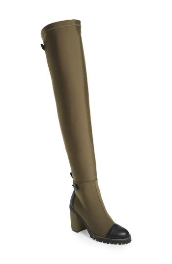 Chinese Laundry Jerry Over The Knee Boot, Green