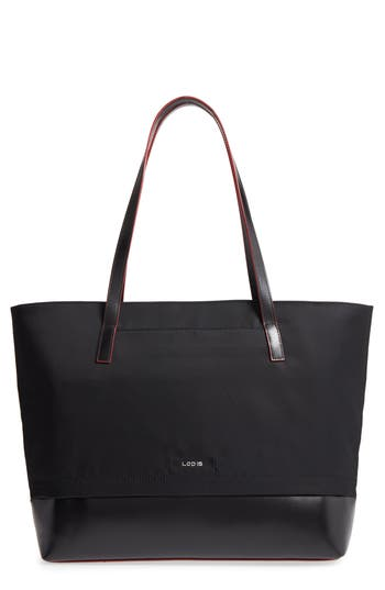 Lodis Kate - Fabia Under Lock & Key Nylon & Leather Tote -