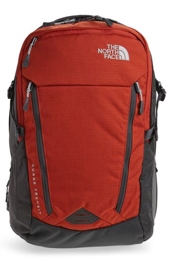 Men's The North Face Surge Transit Backpack - Red
