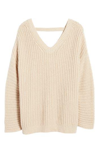 Women's Velvet By Graham & Spencer V-Back Sweater