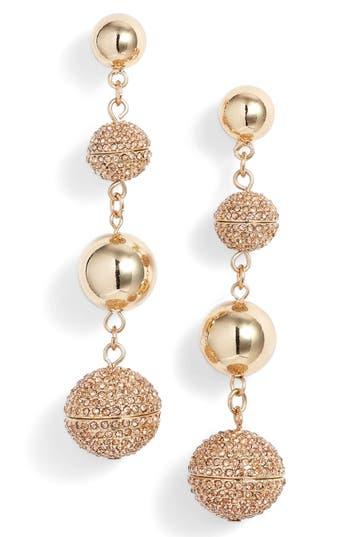 Women's Rebecca Minkoff Statement Pavé Sphere Drop Earrings