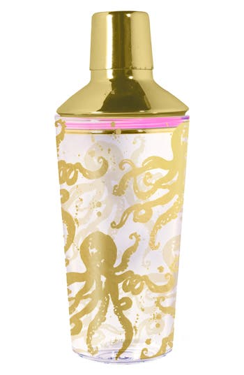 Lilly Pulitzer Cocktail Shaker, Size One Size - Metallic