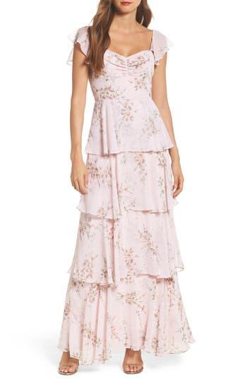 1920s Style Dresses, Flapper Dresses Womens Wayf Abby Off The Shoulder Tiered Dress $172.00 AT vintagedancer.com