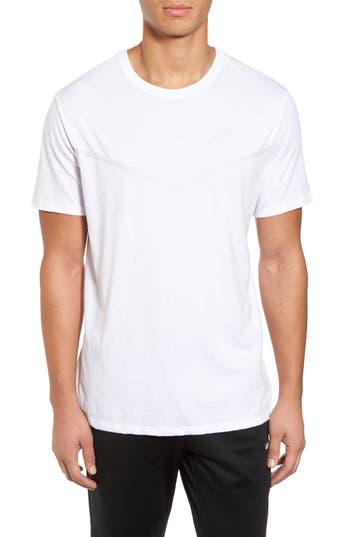 Nike Nsw Tb Tech T-Shirt, White