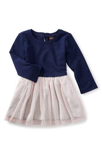 Infant Girl's Tea Collection Tulle Skirted Dress