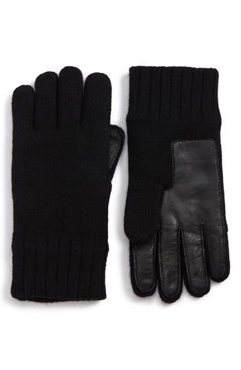 Ugg Smart Wool Blend Gloves, Black