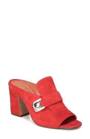 Sarto By Franco Sarto Rosalie Block Heel Sandal, Red