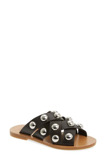 Marc Fisher Ltd Raidan Studded Sandal, Black