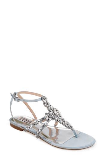 Badgley Mischka Hampden Crystal Embellished Sandal, Blue
