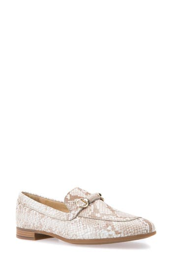 Geox Marlyna Penny Loafer, Beige