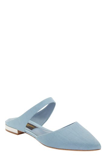 Donna Karan Paris Pointy Toe Mule, Blue