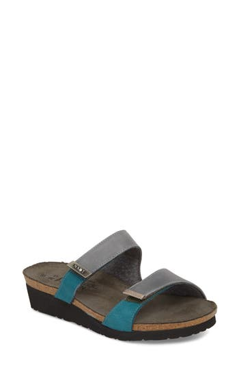Women's Naot Jacey Sandal, Size 12US / 43EU - Grey