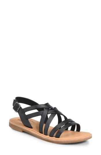 Kork-Ease Nicobar Sandal, Black