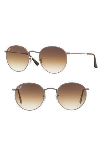 Ray-Ban 5m Round Retro Sunglasses - Gunmetal