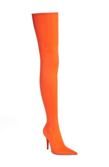 Jeffrey Campbell Gamora Thigh High Boot, Orange
