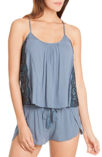 In Bloom By Jonquil Short Pajamas, Blue