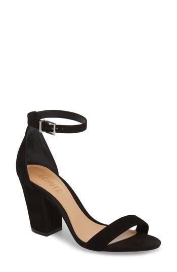 Women's Schutz Jenny Lee Sandal, Size 7 M - Black