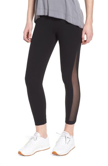 Lysse Skylar Crop Leggings, Black