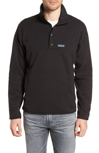 Patagonia Lightweight Better Sweater Pullover, Black