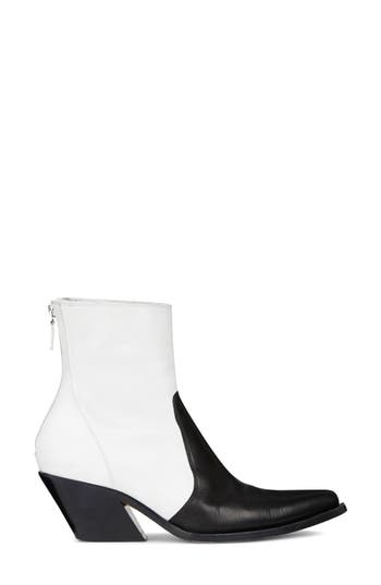 Givenchy Pointy Toe Ankle Boot, White